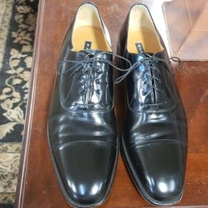 Magnanni Men's Oxford Dress Shoe - 14 Black